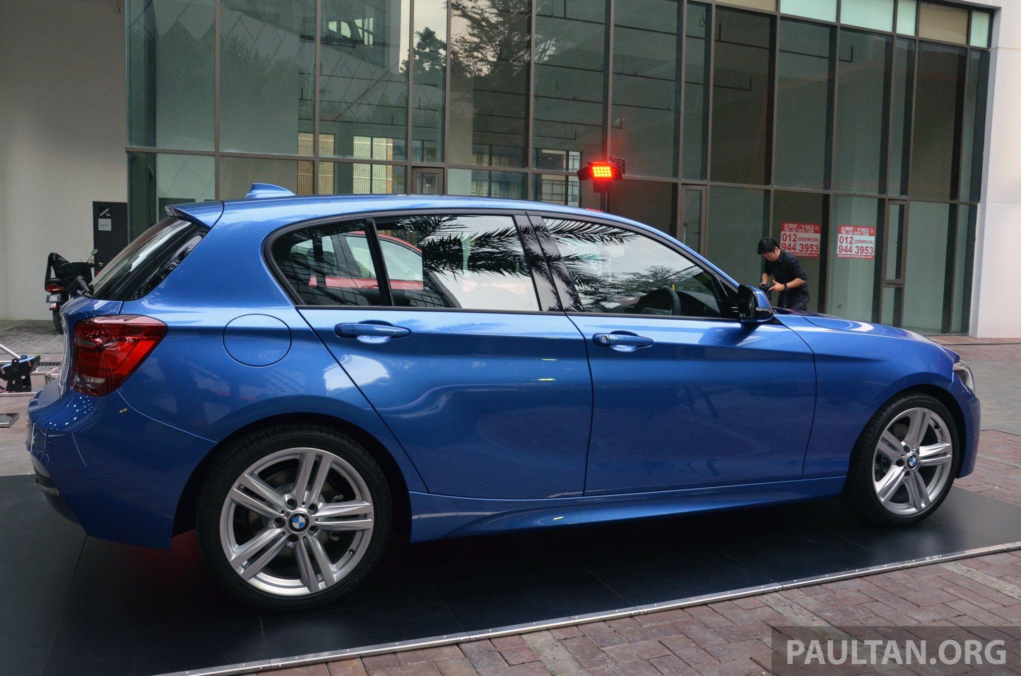 M Series Bmw >> BMW 1 Series (F20) launched in Malaysia – 116i, 118i Sport/Urban, 125i Sport/M Sport, RM171k ...