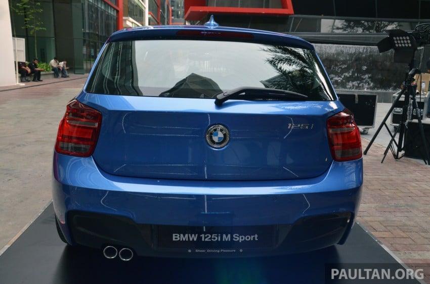 BMW 1 Series (F20) launched in Malaysia – 116i, 118i Sport/Urban, 125i Sport/M Sport, RM171k-254k Image #200053