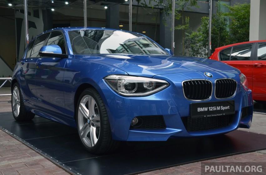 BMW 1 Series (F20) launched in Malaysia – 116i, 118i Sport/Urban, 125i Sport/M Sport, RM171k-254k Image #200041