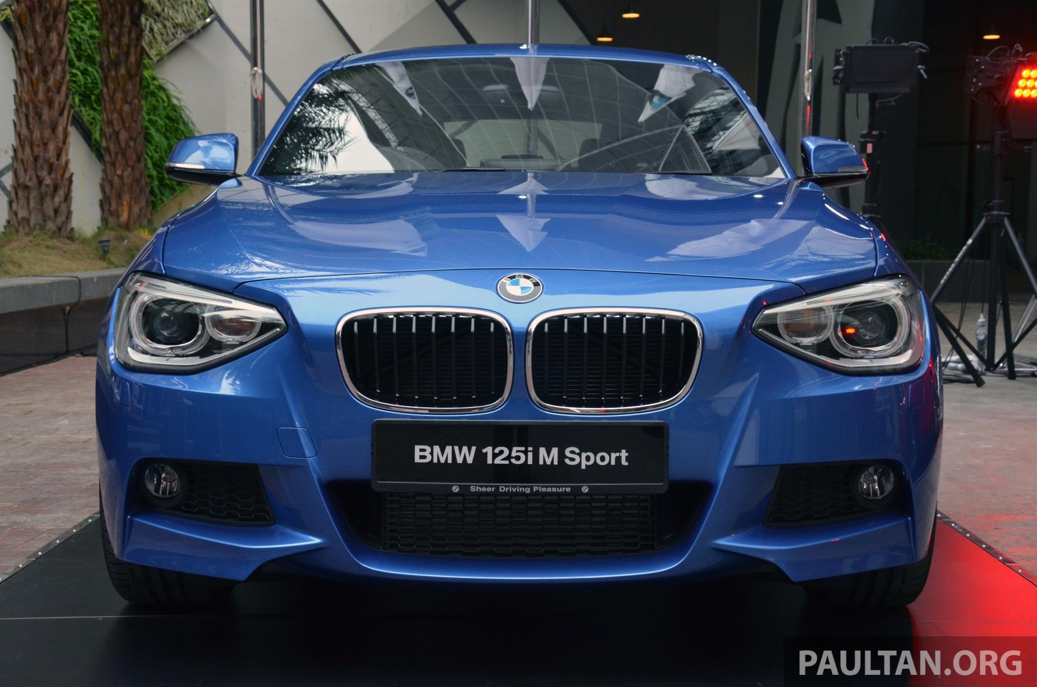 Bmw 125i m Sport Blue F20 Bmw 125i m Sport 4