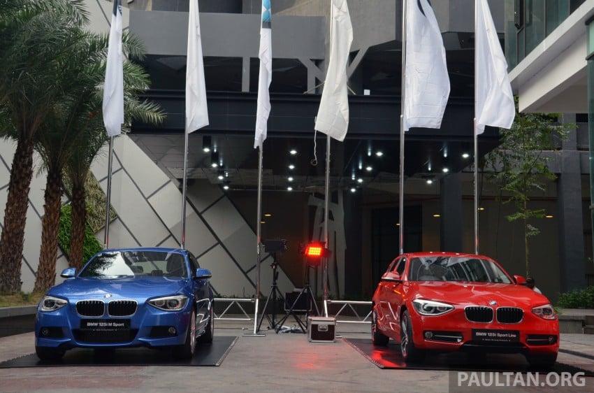 BMW 1 Series (F20) launched in Malaysia – 116i, 118i Sport/Urban, 125i Sport/M Sport, RM171k-254k Image #200043