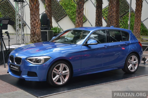 bmw 1 series f20 launched in malaysia priced from. Black Bedroom Furniture Sets. Home Design Ideas