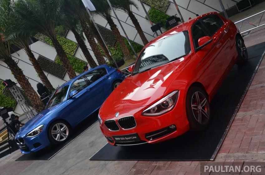 BMW 1 Series (F20) launched in Malaysia – 116i, 118i Sport/Urban, 125i Sport/M Sport, RM171k-254k Image #200046