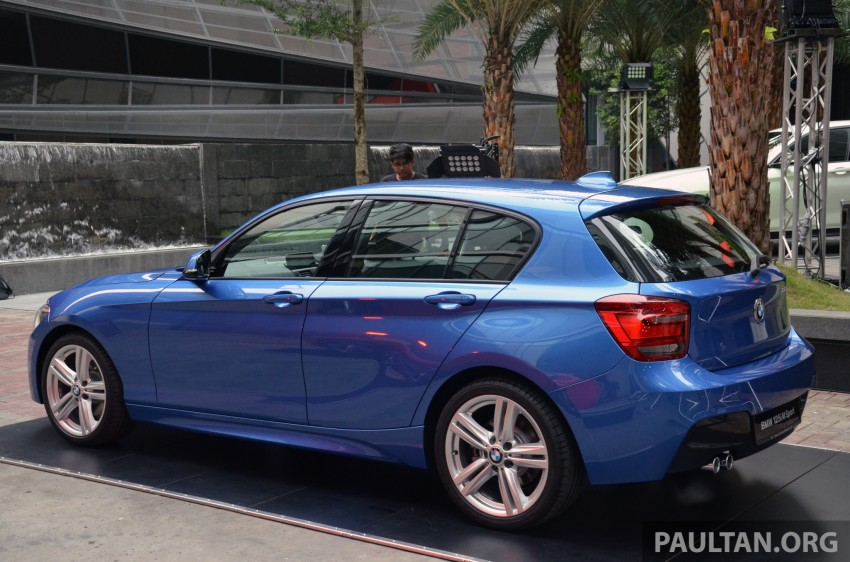 BMW 1 Series (F20) launched in Malaysia – 116i, 118i Sport/Urban, 125i Sport/M Sport, RM171k-254k Image #200047