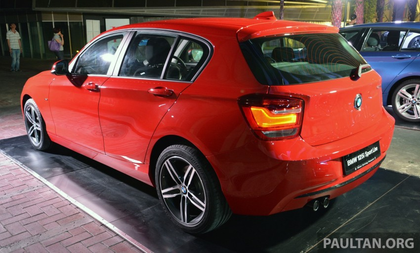 BMW 1 Series (F20) launched in Malaysia – 116i, 118i Sport/Urban, 125i Sport/M Sport, RM171k-254k Image #200089