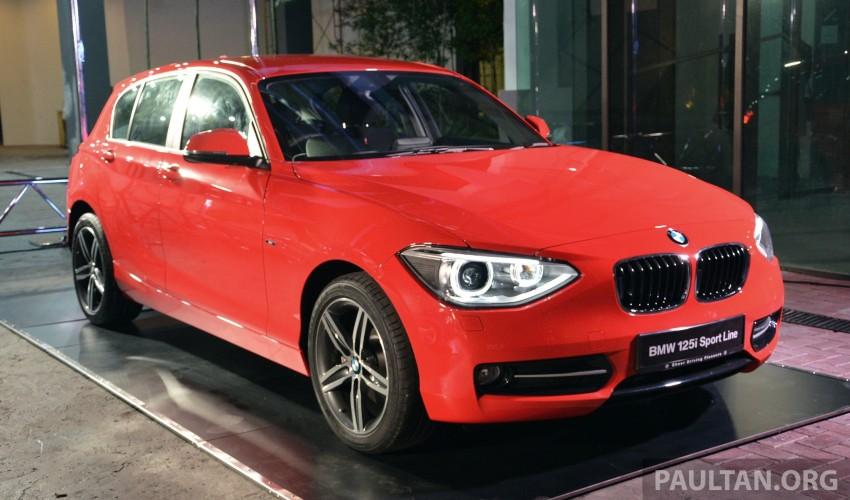 BMW 1 Series (F20) launched in Malaysia – 116i, 118i Sport/Urban, 125i Sport/M Sport, RM171k-254k Image #200088