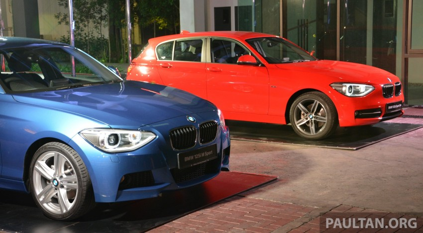 BMW 1 Series (F20) launched in Malaysia – 116i, 118i Sport/Urban, 125i Sport/M Sport, RM171k-254k Image #200087