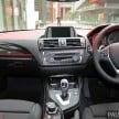 F20 BMW 125i Sport 3