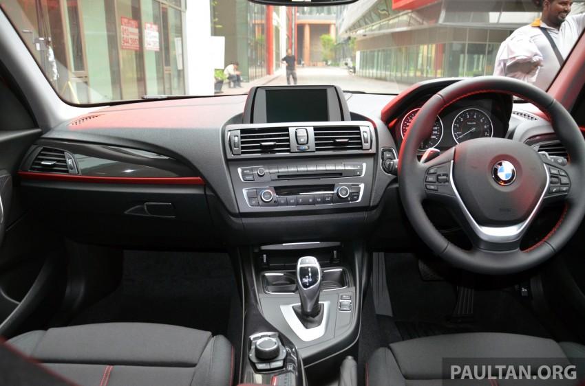 BMW 1 Series (F20) launched in Malaysia – 116i, 118i Sport/Urban, 125i Sport/M Sport, RM171k-254k Image #200069