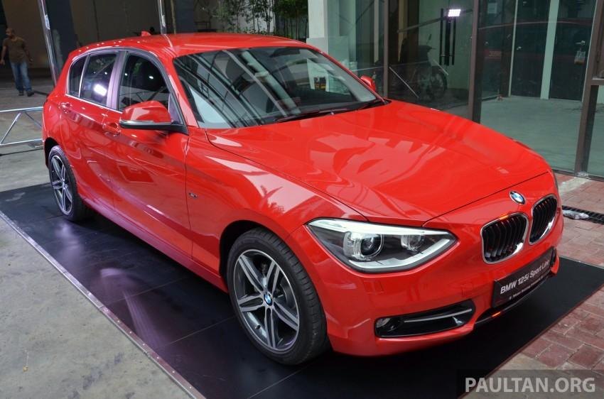 BMW 1 Series (F20) launched in Malaysia – 116i, 118i Sport/Urban, 125i Sport/M Sport, RM171k-254k Image #200073