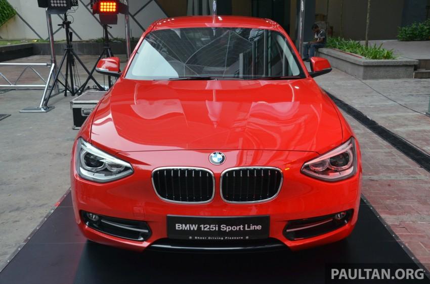 BMW 1 Series (F20) launched in Malaysia – 116i, 118i Sport/Urban, 125i Sport/M Sport, RM171k-254k Image #200077
