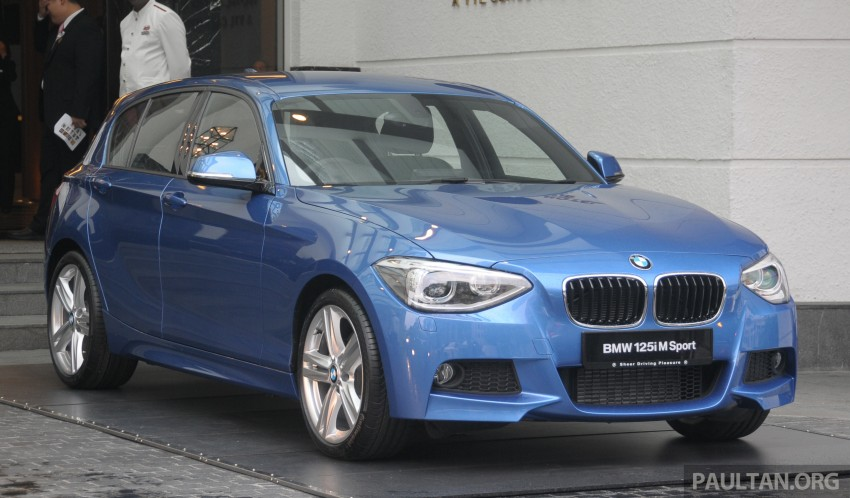 F20 BMW 1-Series previewed at BMW Shorties 2013 Image #196186