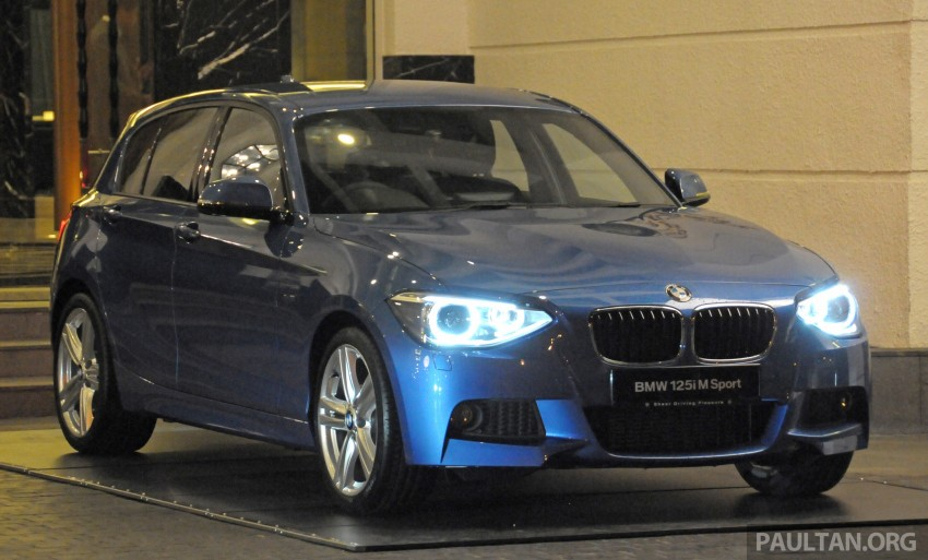F20 BMW 1-Series previewed at BMW Shorties 2013 Image #196187