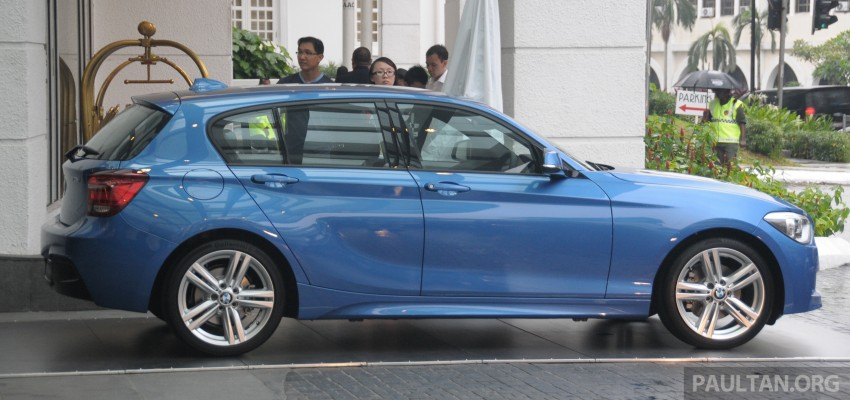 F20 BMW 1-Series previewed at BMW Shorties 2013 Image #196189