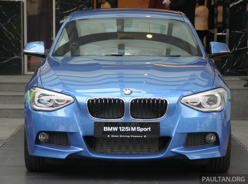 F20 BMW 1-Series previewed at BMW Shorties 2013 Image #196190