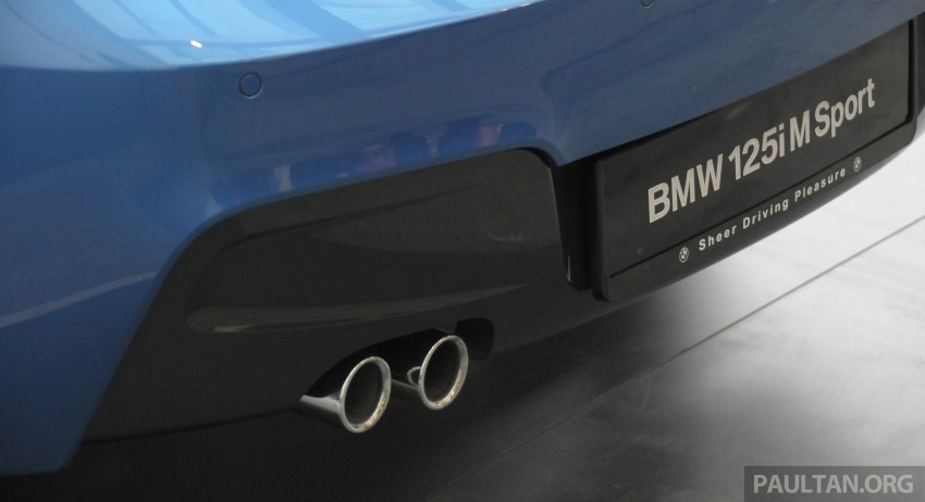 F20 BMW 1-Series previewed at BMW Shorties 2013 Image #196198