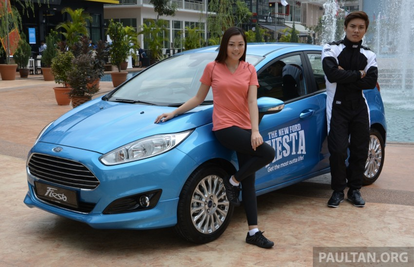 2013 Ford Fiesta facelift debuts in showrooms, RM87k Image #200328