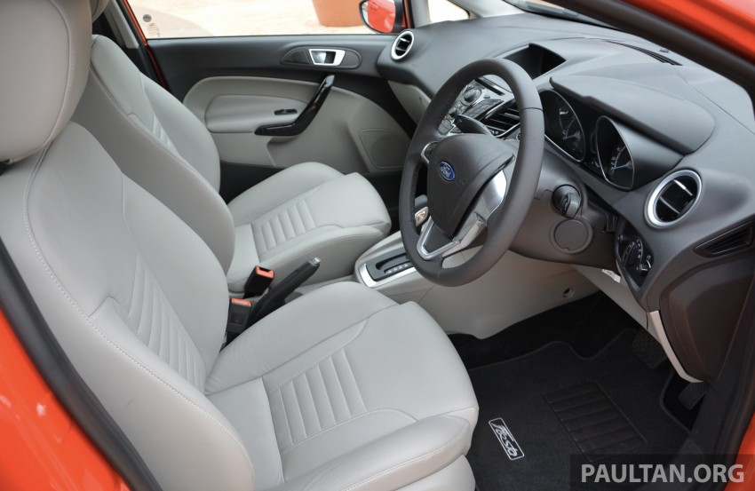 2013 Ford Fiesta facelift debuts in showrooms, RM87k Image #200330