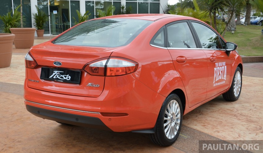 2013 Ford Fiesta facelift debuts in showrooms, RM87k Image #200331