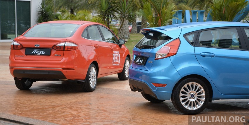 2013 Ford Fiesta facelift debuts in showrooms, RM87k Image #200332