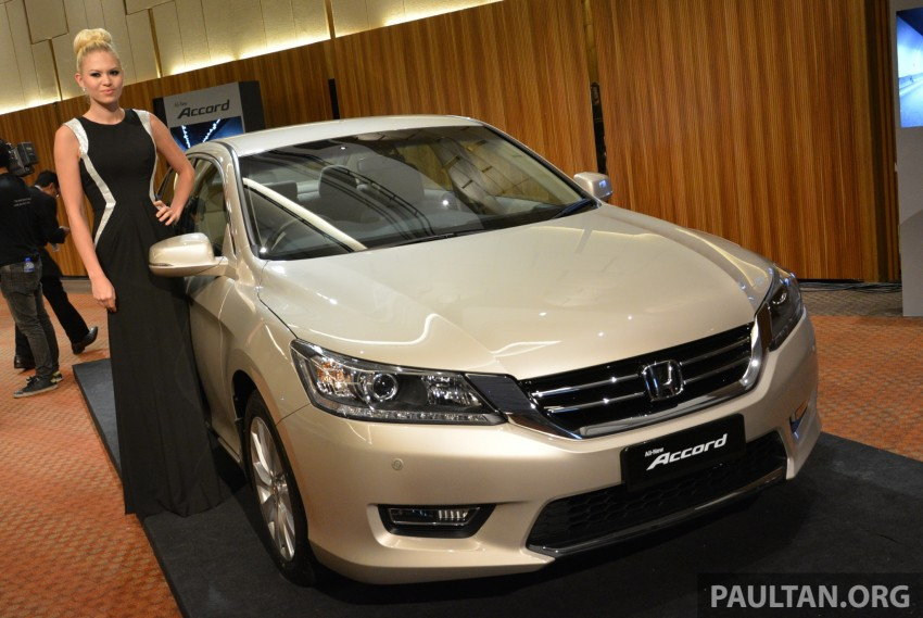 Honda Accord launched in Malaysia – from RM140k Image #196408