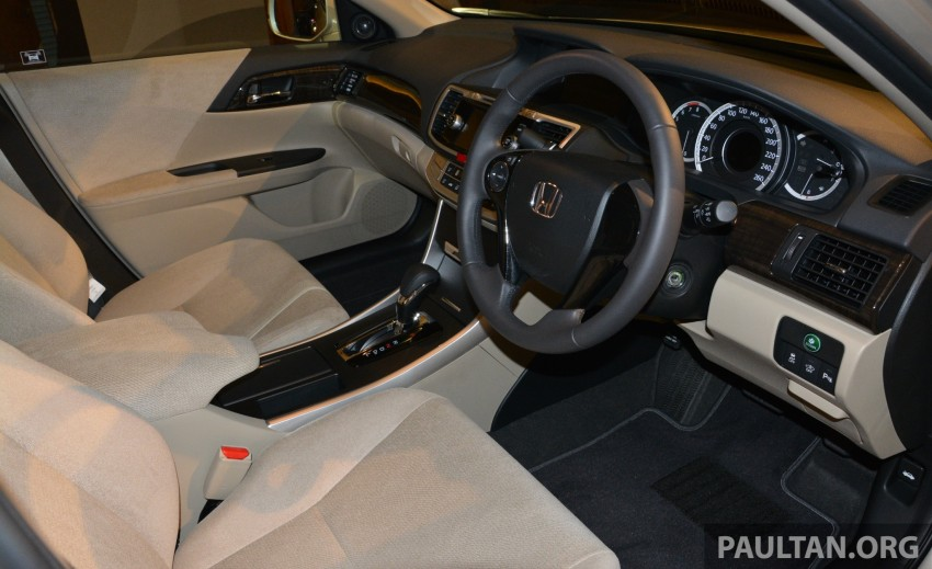 Honda Accord launched in Malaysia – from RM140k Image #196423