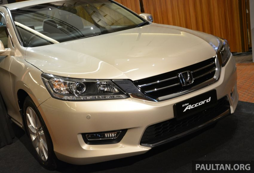 Honda Accord launched in Malaysia – from RM140k Image #196409