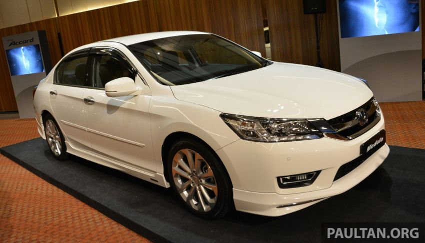 Honda Accord launched in Malaysia – from RM140k Image #196430