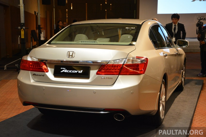 Honda Accord launched in Malaysia – from RM140k Image #196431