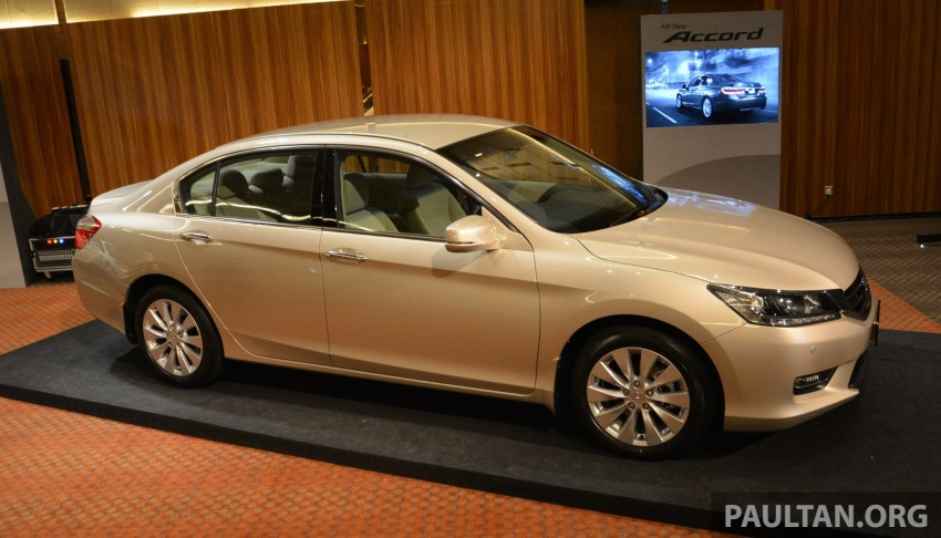 Honda Accord launched in Malaysia – from RM140k Image #196432