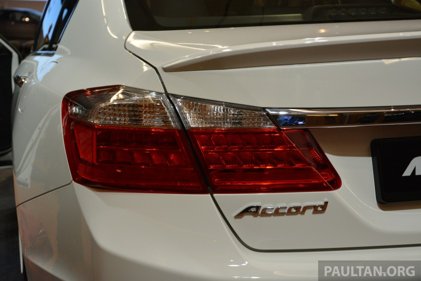 Honda Accord launched in Malaysia – from RM140k Image #196413