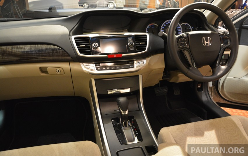 Honda Accord launched in Malaysia – from RM140k Image #196416
