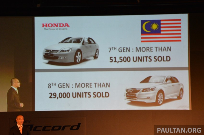 Honda Accord launched in Malaysia – from RM140k Image #196342