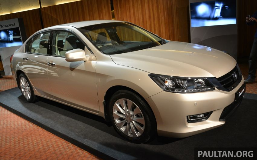 Honda Accord launched in Malaysia – from RM140k Image #196352