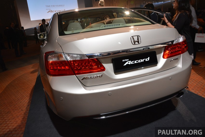 Honda Accord launched in Malaysia – from RM140k Image #196354