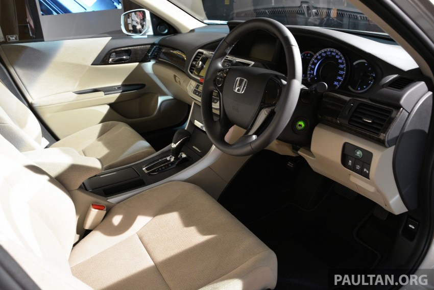 Honda Accord launched in Malaysia – from RM140k Image #196355