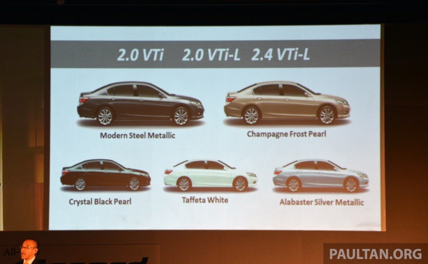 Honda Accord launched in Malaysia – from RM140k Image #196343