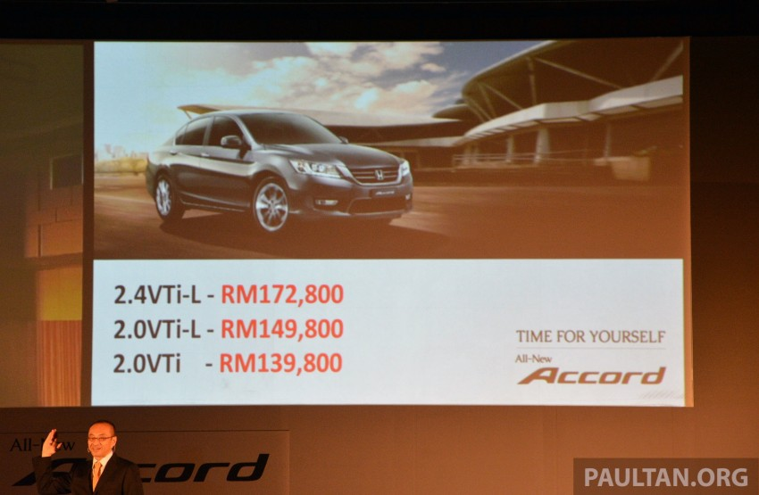 Honda Accord launched in Malaysia – from RM140k Image #196344