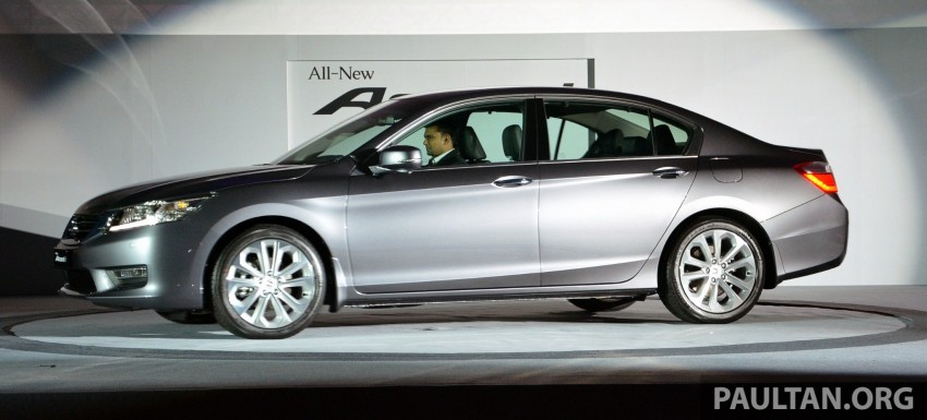 Honda Accord launched in Malaysia – from RM140k Image #196345