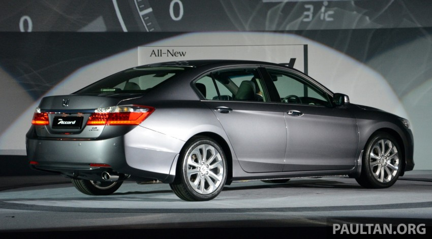 Honda Accord launched in Malaysia – from RM140k Image #196347