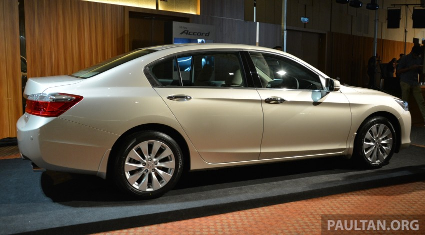 Honda Accord launched in Malaysia – from RM140k Image #196350