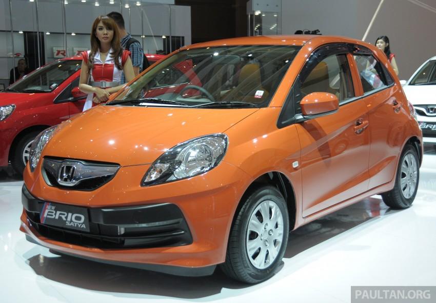 GALLERY: Honda Brio Satya: entry-level hatch at IIMS Image #200164