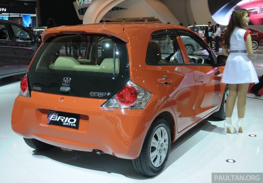 GALLERY: Honda Brio Satya: entry-level hatch at IIMS Image #200165