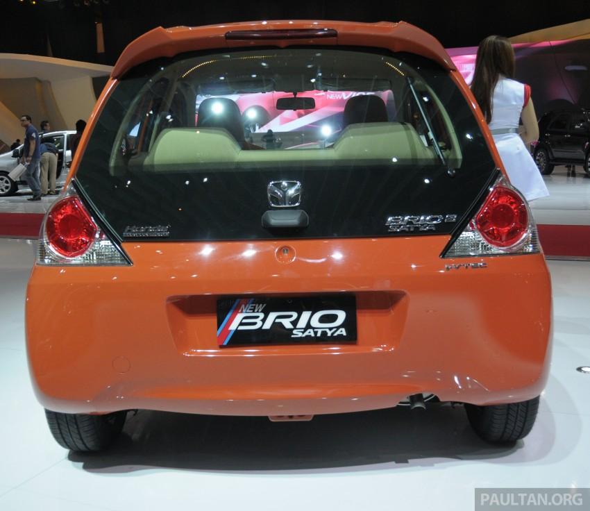 GALLERY: Honda Brio Satya: entry-level hatch at IIMS Image #200166