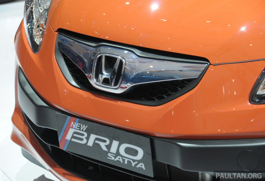 GALLERY: Honda Brio Satya: entry-level hatch at IIMS Image #200168