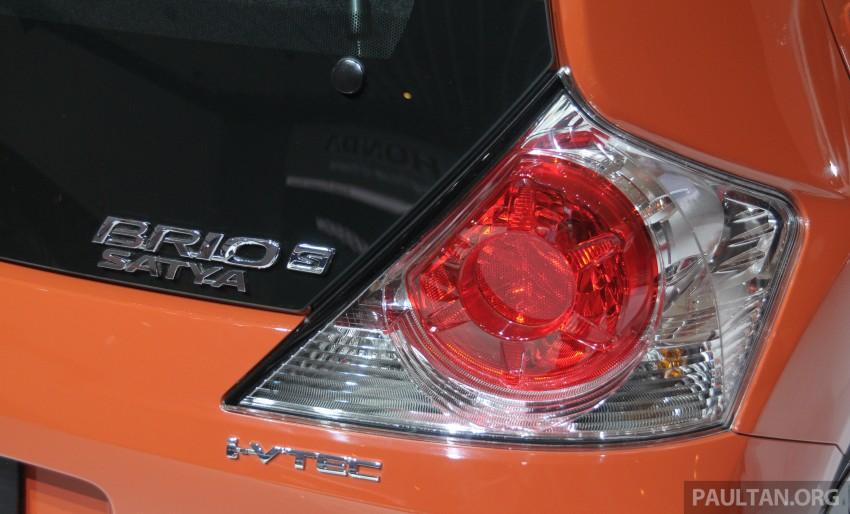 GALLERY: Honda Brio Satya: entry-level hatch at IIMS Image #200172