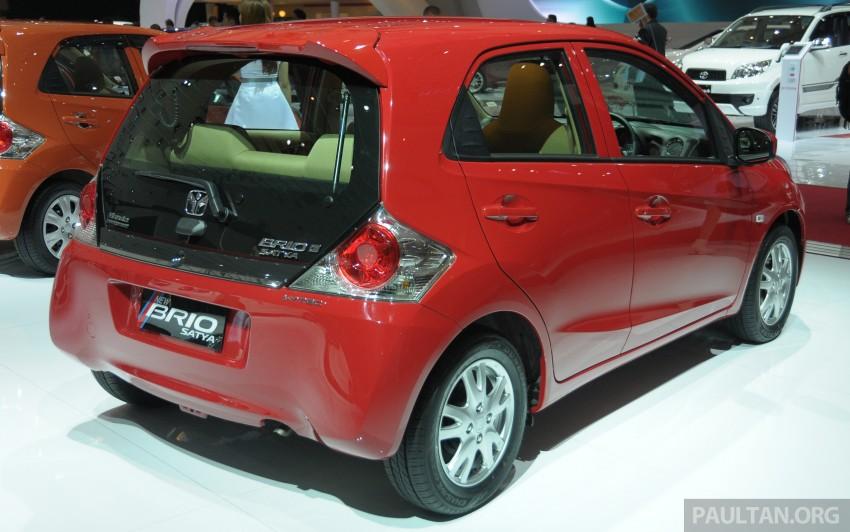 GALLERY: Honda Brio Satya: entry-level hatch at IIMS Image #200183