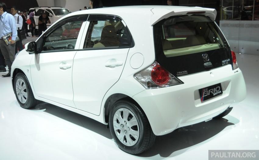GALLERY: Honda Brio Satya: entry-level hatch at IIMS Image #200184