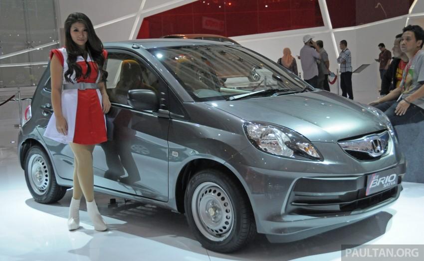 GALLERY: Honda Brio Satya: entry-level hatch at IIMS Image #200187