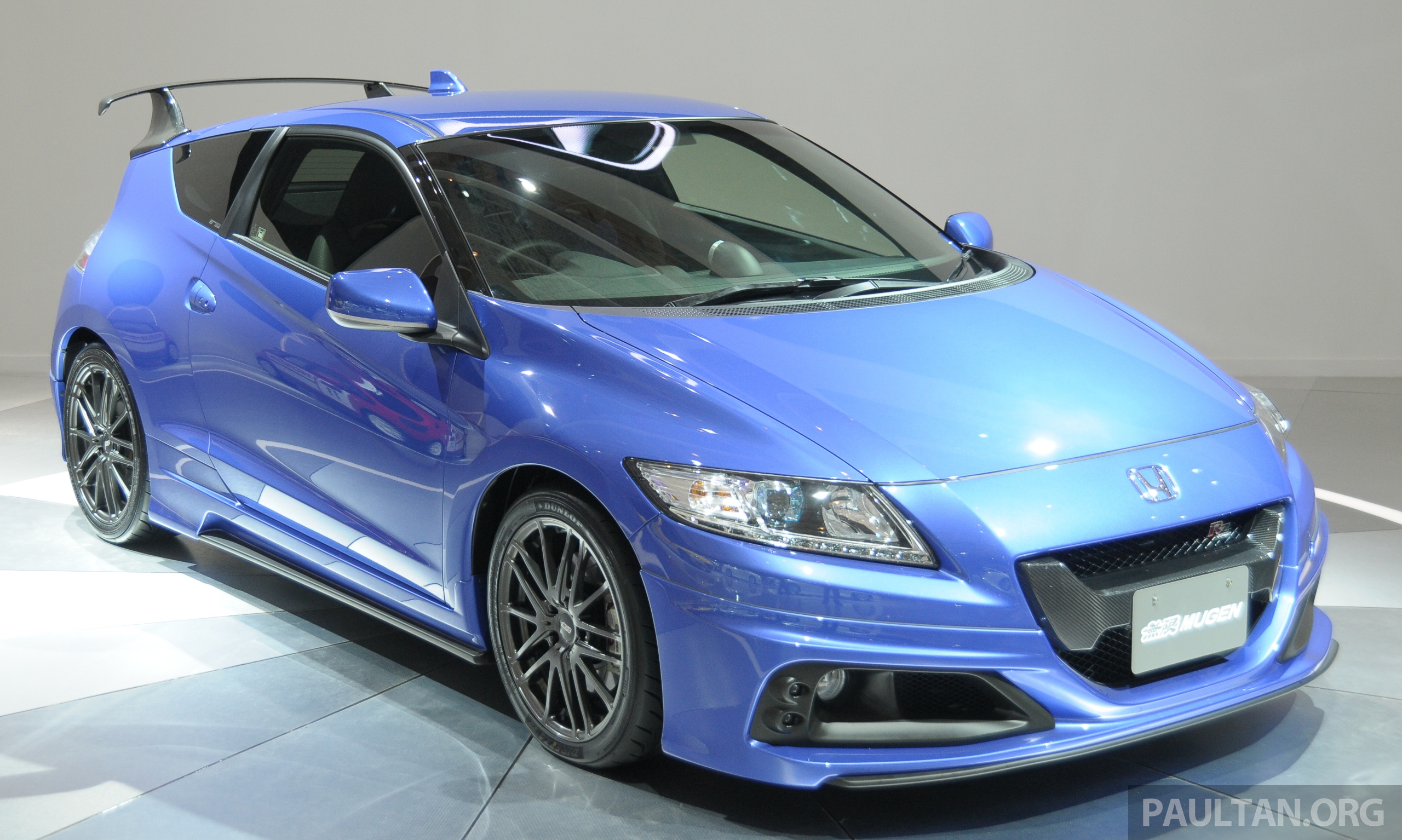 gallery honda cr z mugen rz on display at iims. Black Bedroom Furniture Sets. Home Design Ideas